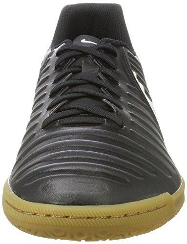 Nike Herren Tiempox Rio Iv Ic Fußballschuhe Schwarz (nero / Bianco-nero-metallizzato Oro Vivo)