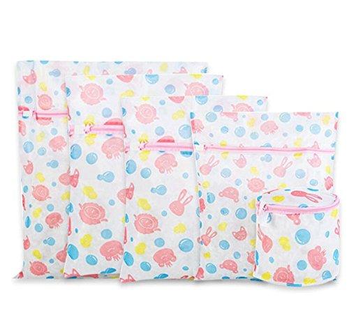 Borse della lavanderia della magliaSacchi di lavaggio riutilizzabili con cerniera maglie larghi per camicie delicati intimo intimo reggiseno lingerie