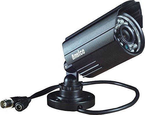 CCTV Weitwinkel Kamera 2,8mm 1000TVL CMOS mit IR-Cut Home Überwachungssysteme Wasserdicht IP66Sicherheit Kamera Tag Nacht 24Infrarot LEDs mit Bonus Blacket
