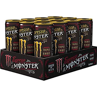 12 Dosen Espresso Monster Milk Triple Shot Espresso a 250ml pfandfrei