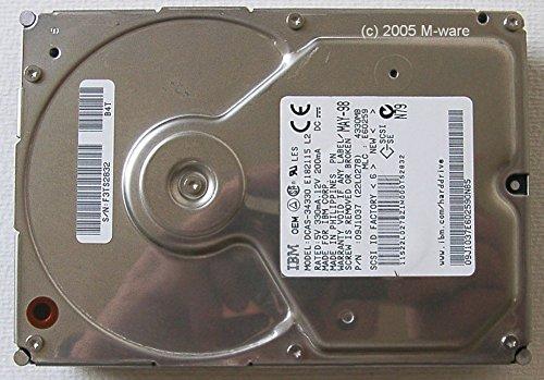 4.3 Gb Festplatte (4,3GB Festplatte IBM DCAS-34330 UW-SCSI 3,5 ID4381)