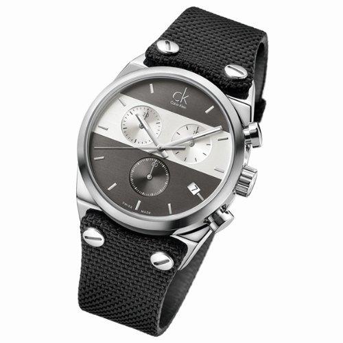 Hombres Calvin Klein ck Eager Reloj Cronógrafo K4B381B3