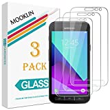 [3 Stück] MOOKLIN Samsung Galaxy Xcover 4 Panzerglas Displayschutzfolie, [Anti-Kratzen] Handy Schutzfolie für Samsung Galaxy Xcover 4