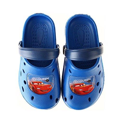 Cars Jungen Clogs Kinder Badesandalen 29-30 / hellblau