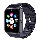 Willful Smartwatch Uhr Armband Fitness Tracker Armbanduhr Sport Uhr mit/Kamera/Schrittzähler/Schlaftracker/Romte Capture Kompatibel mit Android Smartphone