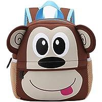 Bolso, Manadlian Mochila para niños Bolsas de escuela para niños Jardín de infancia Bolsas de libros de dibujos animados Bolsas de hombro (21cm(L)*26(H)*8cm(W), G)