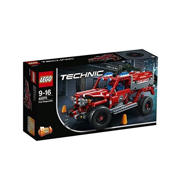 LEGO- Technic Unità di Primo Soccorso, Multicolore, 42075 2 spesavip