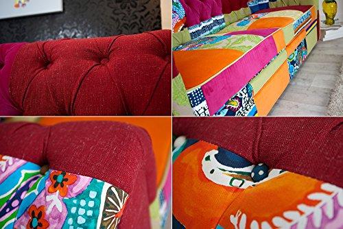 Invicta Interior 35018 Chesterfield Sofa Patchwork, bunt - 5