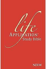 NIV Life Application Study Bible (Anglicised) (New International Version) Hardcover