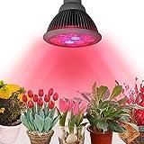 InnooTech Pflanzenlampe E27 24W Led Wachstumslampe Pflanzenlicht Wuchslampen Innengarten Pflanze