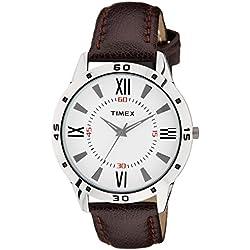 Timex Analog Off-White Dial Men's Watch - TW002E113