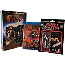 Puppet Master Vhs Retro Big Box Blu-Ray/Dvd Set Collection
