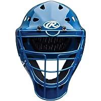 Rawlings adulto Baseball Coolflo estilo hockey casco azul para catcher