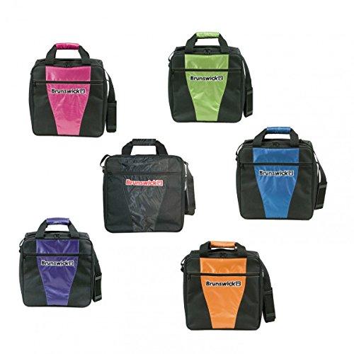 Brunswick 1-Ball Bowlingtasche für eine Bowlingkugel und Bowlingschuhe