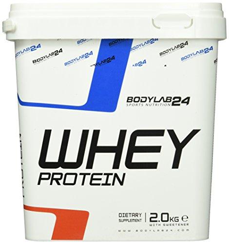 Bodylab24 Whey Protein Eiweißpulver, 2000g