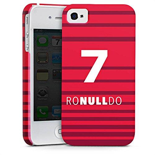 Apple iPhone 7 Silikon Hülle Case Schutzhülle Fußball Christiano Ronaldo Humor Premium Case glänzend