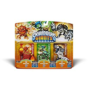 Skylanders: Giants – Triple Pack F: Eruptor, Stealth Elf, Terrafin