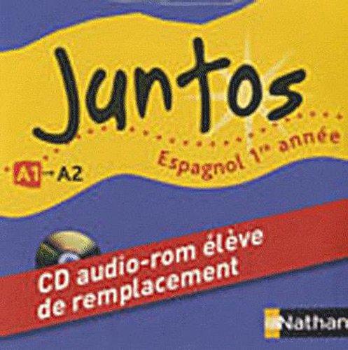 Espagnol 1re année A1 Juntos : Pack de 10 CD-ROM élève