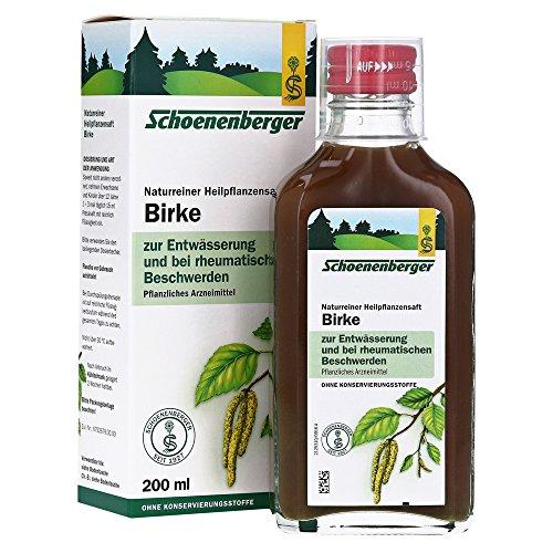 Schoenenberger Birkenblätter-Saft, 1er Pack (1 x 200 ml)