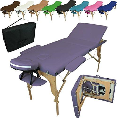 linxor-france-r-table-de-massage-pliante-3-zones-en-bois-avec-panneau-reiki-accessoires-et-housse-de