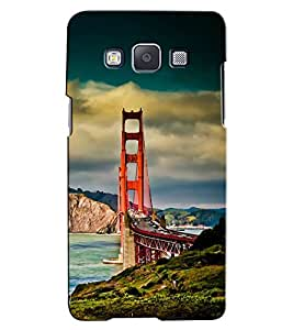 Citydreamz River/Bridge/Scenery/Nature/Mountains/Water Hard Polycarbonate Designer Back Case Cover For Samsung Galaxy A3