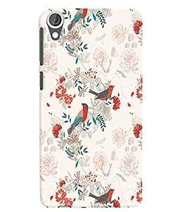 Citydreamz Beautiful Birds/Floral Print Hard Polycarbonate Designer Back Case Cover For HTC Desire 728/HTC Desire 728G/HTC Desire 728 LTE/ HTC Desire Dual Sim