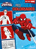 Mes coloriages Ultimate Spider-Man...