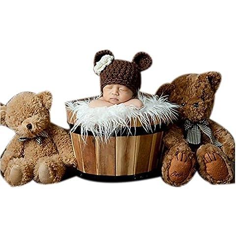 Nouveau-né Bébé Photographie Accessories Garcon Fille Des Costumes Tenues Chapeaux