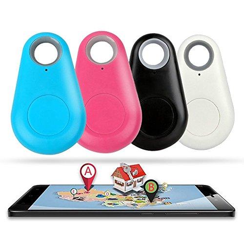 GPS Tracker SMART Finder Bluetooth Tracker Locator Pet Tracker Alarm Schlüsseletui Auto Wireless Antiverlust Sensor Fernbedienung Selfie Shutter Seeker für Kinder, Gepäck, Geldbeutel Schlüssel KFZ Auto Smartphone