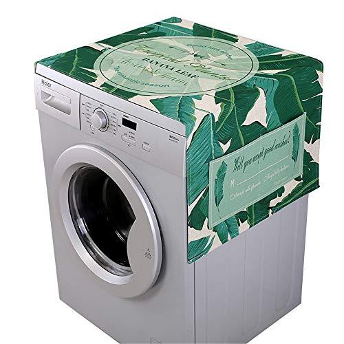 Preisvergleich Produktbild WyaengHai Waschmaschinendeckel Kühlschrank Multifunktionswaschmaschine Obere Abdeckung Kühlschrank Staubschutzhaube for Bad Küche Bad Geeignet für die meisten Top- oder Frontlader-Waschtrockner