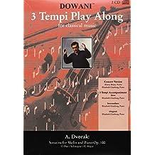 A. Dvorak: Sonatina for Violin and Piano Op. 100: G-Dur / Sol Majeur / G-Major