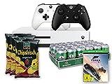 Xbox One S 500GB Konsole - Forza Horizon 3 Bundle inkl. 2. Xbox Wireless Controller (schwarz) + 24x Heineken Dose (24 x 0.33 l) + funny-frisch Chipsfrisch ungarisch, 12er Pack (12 x 50 g)