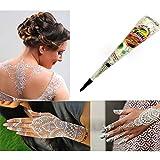 Zantec Tatuajes temporaires blanca Henna estilo N77 para el cuerpo joyas corporel Portátil Safe...