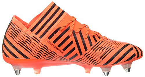 adidas Nemeziz 7 SG, Chaussures de Football Homme Multicolore (Solar Orange/core Black/solar Red)