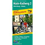 Main-Radweg 2 Würzburg - Mainz: Leporello Radtourenkarte mit Ausflugszielen, Einkehr- & Freizeittipps, wetterfest, reissfest, abwischbar, GPS-genau. 1:50000
