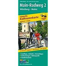 Main-Radweg 2 Würzburg - Mainz: Leporello Radtourenkarte mit Ausflugszielen, Einkehr- & Freizeittipps, wetterfest, reissfest, abwischbar, GPS-genau. 1:50000 (Leporello Radtourenkarte / LEP-RK)