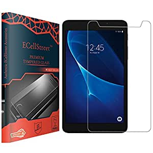 ECellStreet Tempered Glass Toughened Glass Screen Protector for Micromax Fantabulet F666