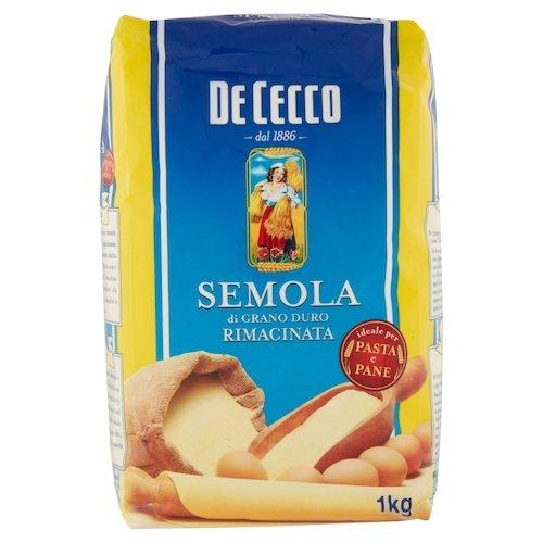 De Cecco Pastamehl Semola di Grano duro RIMACINATA 1 kg Packung