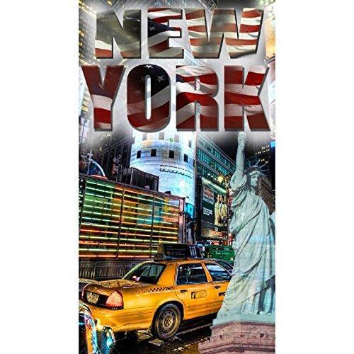 Serviette de plage 90x170 cm NEW YORK
