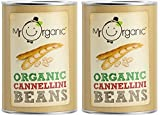 (2 Pack) - Mr Organic - Org Cannellini Beans Tin | 400g | 2 PACK BUNDLE