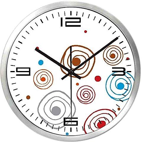 Creative horloges horloge murale nous positive est simple et élégant