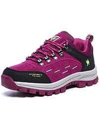 FMCAMEL Senderismo Botas Mens Ladies impermeable Trail Mountain zapatos para caminar Viajes Camping Outdoor Zapatillas más tamaño disponible 39-47