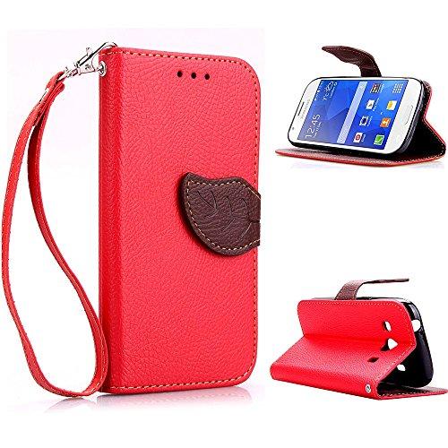 zl one Telefono Caso per Samsung Galaxy Ace Style LTE G357 PU Custodia in Pelle Carte Slot Credito Flip Cover Case Foglia Chiusura Magnetica