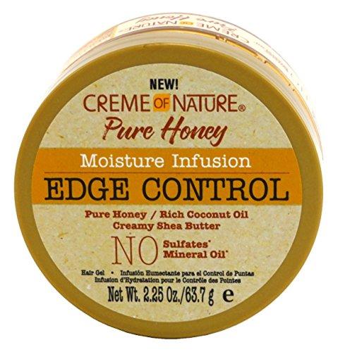 Creme Of Nature Pure Honey Moisturizing Infusion Edge Control 63.7G