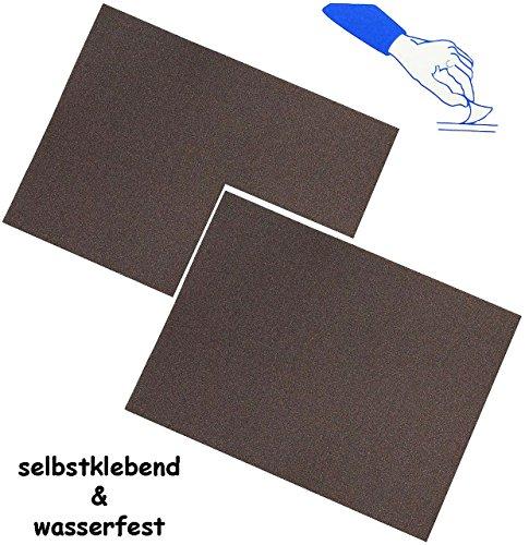 6 Stück _ selbstklebende Reparatur Aufkleber - Nylon -