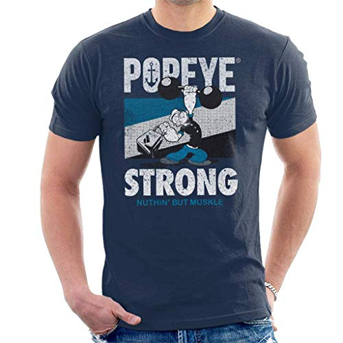 Popeye Barbell Nuthin But Muskle Men's T-Shirt XXXL -