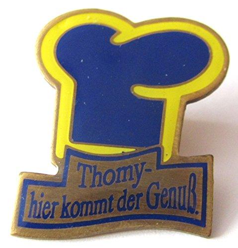Thomy - hier kommt der Genuß - Pin 30 x 25 (Genuss Schmuck Kostüm)