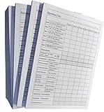 3x Block für Würfelspiel - 50 Blatt, DIN A6, 50 Blatt, Qualitäts-Offset-Papier 80g/m² (22640)