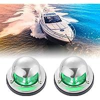 Marine LED Reading Light12V Silver Boat Chandlery//Boat//Yacht//Caravan//Motorhomes