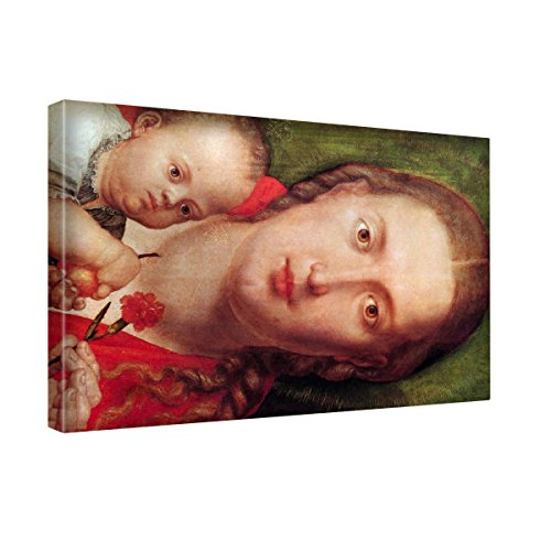 asher-brown-durand-mary-with-the-carnation-stampa-artistica-su-canvas-quadro-su-tela-immagine-su-tel